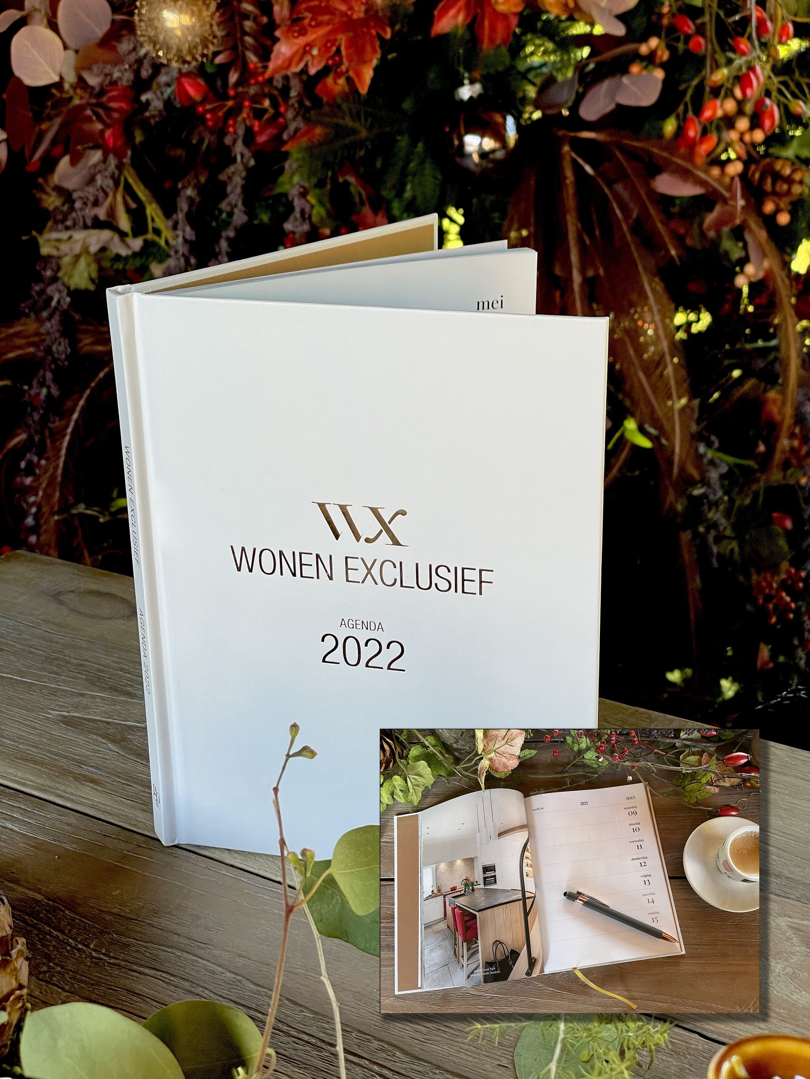 de Wonen Exclusief agenda 2022 t.w.v. €14,95